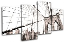 Brooklyn Bridge NYC city - 13-0618(00B)-MP04-LO